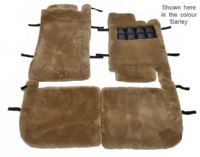 Set of 4 Sheepskin Over Rugs - Bentley Azure (1st Generation) From 1995 To 2003